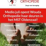 Wouda orthopedie verhuist van de Hengelosestraat in Oldenzaal naar het MST Oldenzaal